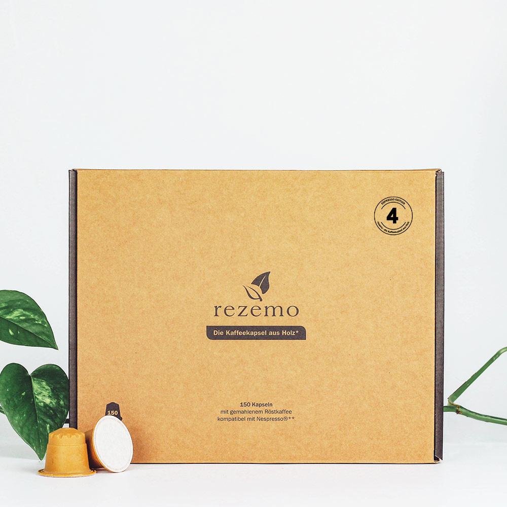 150 nachhaltige Kaffeekapseln Edition 4 in der Großverpackung