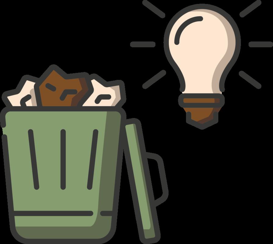 Die Idee zur Lösung des Verpackungsmuellproblems