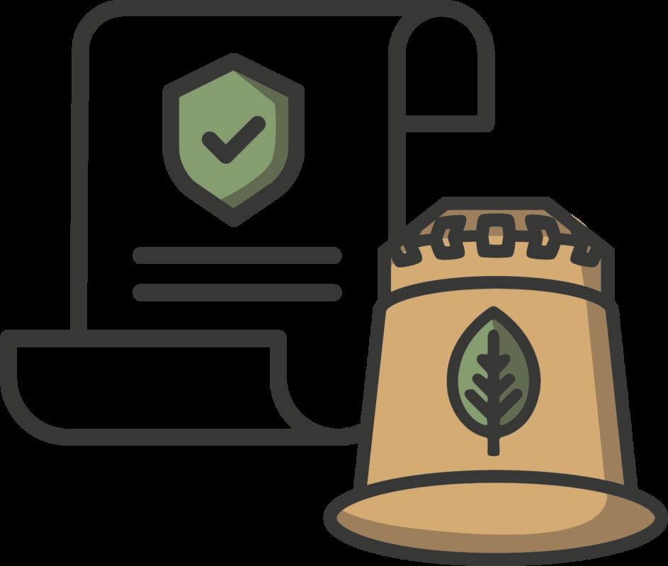 Icon rezemo Patent fuer innovative Kaffeekapsel aus Holz