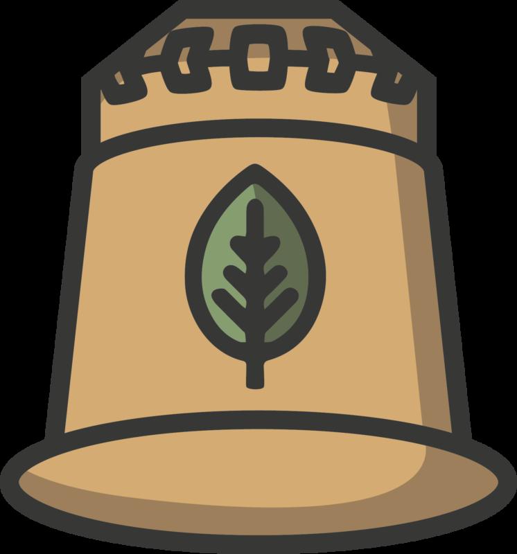 rezemo Icon fuer 100 prozent biobasierte Kaffeekapsel