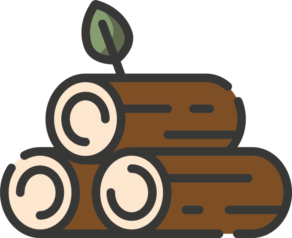 rezemo icon wood stack for natural material wood