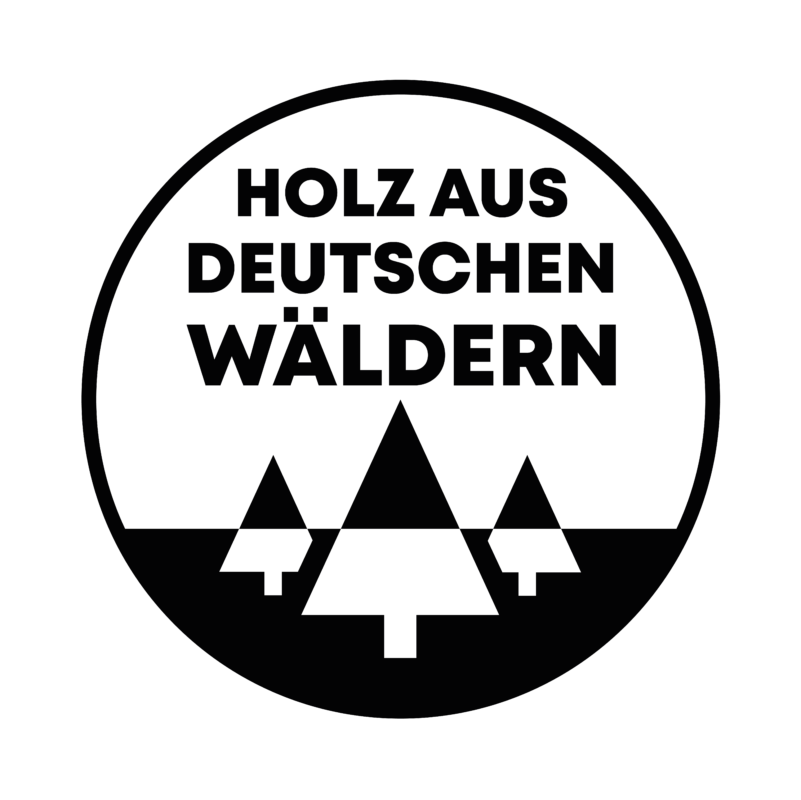rezemo Siegel fuer Holz ausschliesslich aus deutschen Waeldern