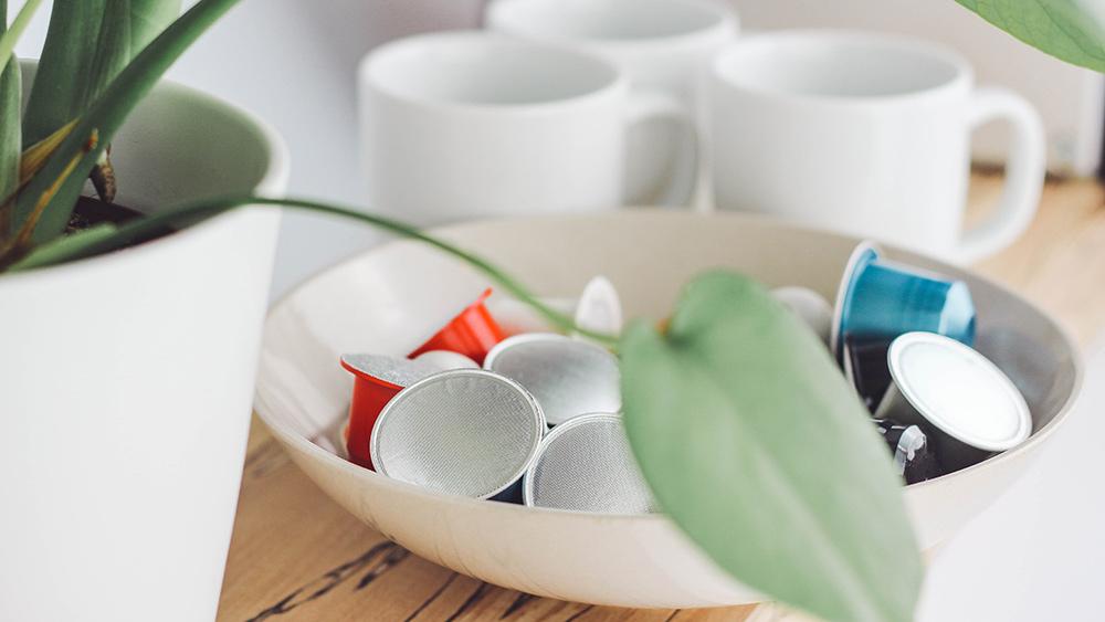 Kapselmaterial, Kapselentsorgung, recycelbar ist nicht gleich nachhaltig