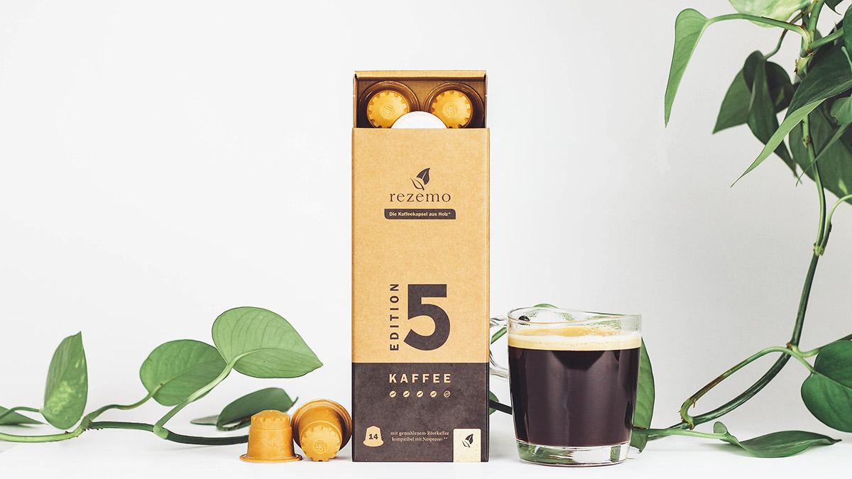 rezemo Edition 5: 14 nachhaltige Kaffeekapseln Breitbild
