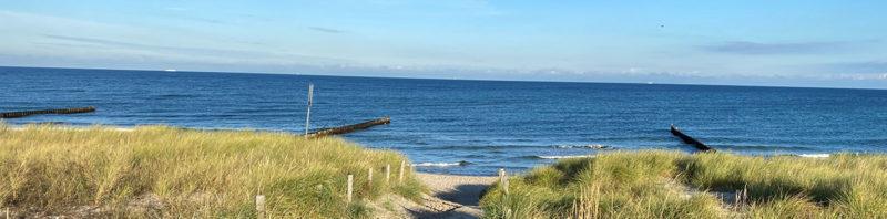 Sea view Ahrenshoop dunes