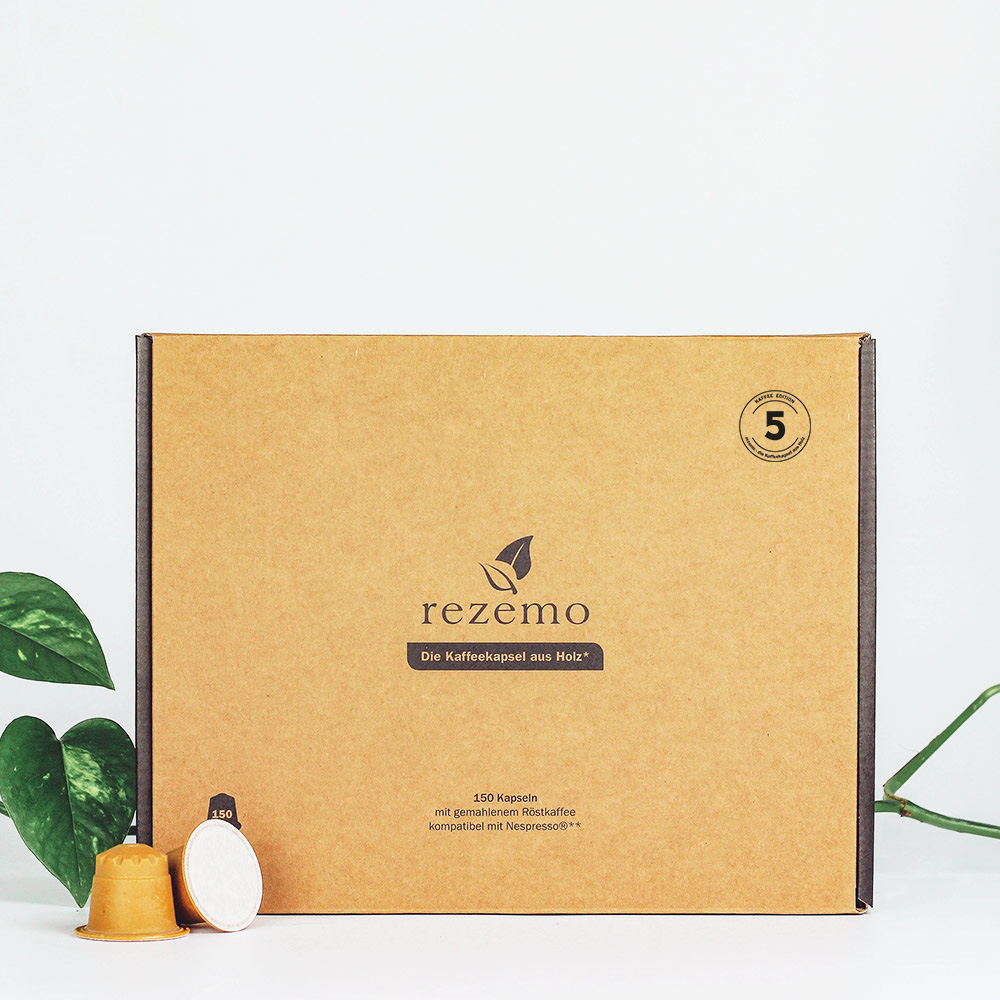 150 nachhaltige Kaffeekapseln Edition 5 in der Großverpackung