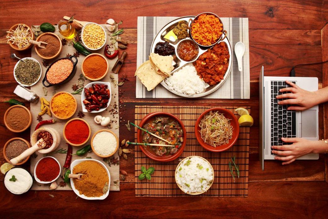 Foodbox virtueller Kochabend mit Freunden und Kollegen Tischline
