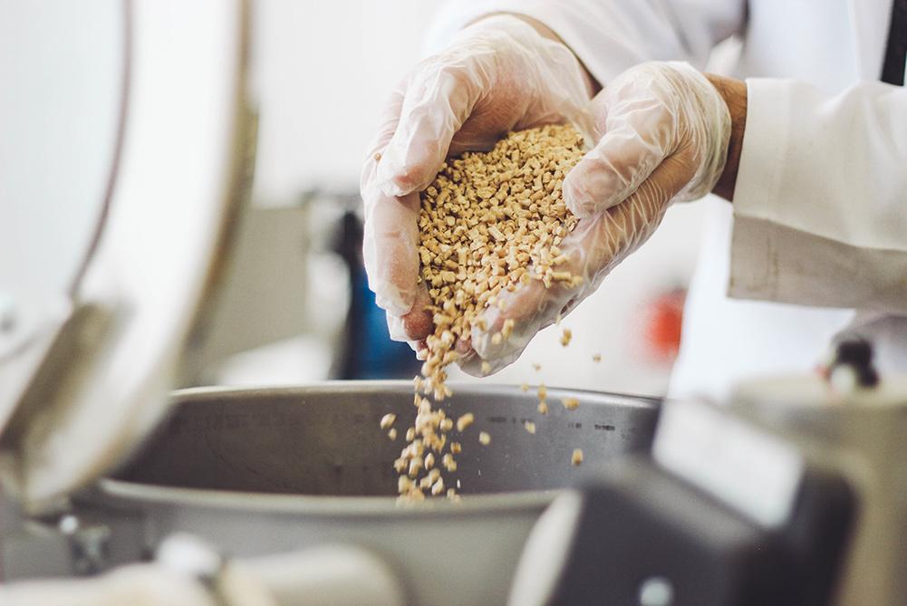 forewood Werkstoff Material in der Produktion