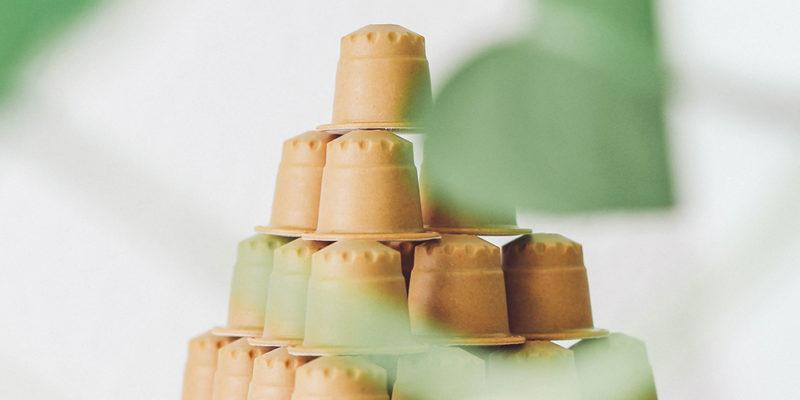 Eine Pyramide aus rezemo Kapseln